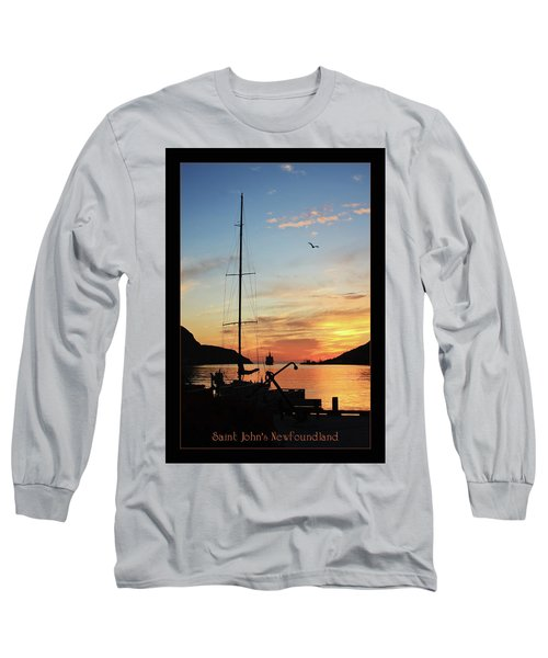 Sunrise In Newfoundland Long Sleeve T-Shirt