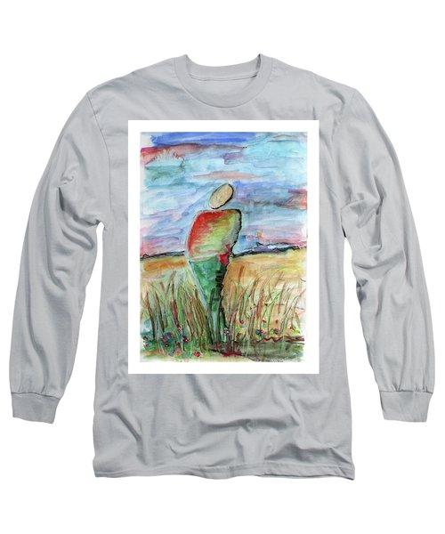 Sunrise In The Grasses Long Sleeve T-Shirt