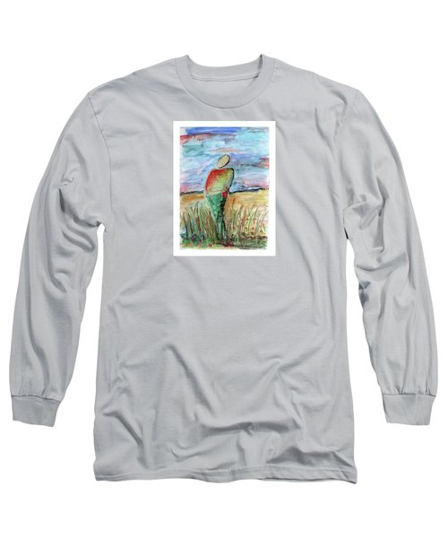 Sunrise In The Grasses Long Sleeve T-Shirt
