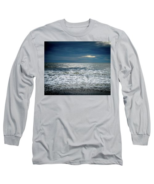 Sunrise-kennebunk Beach Long Sleeve T-Shirt