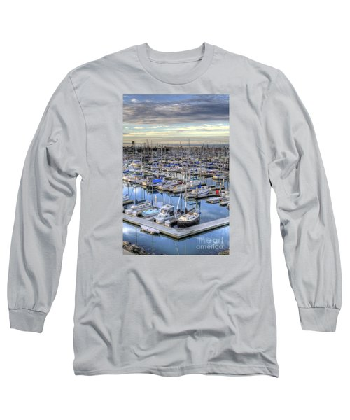 Sunrise On The Harbor Long Sleeve T-Shirt