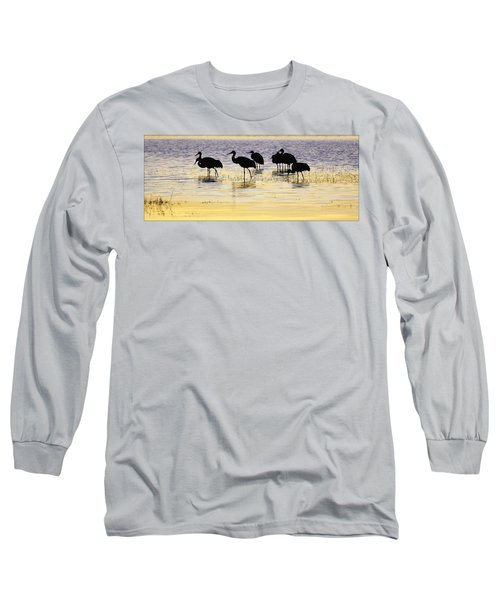 Sunrise Silhouette Long Sleeve T-Shirt