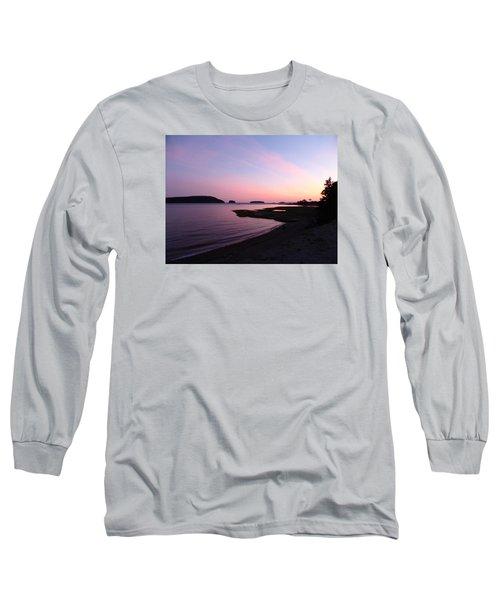 Sunset At Five Islands Long Sleeve T-Shirt