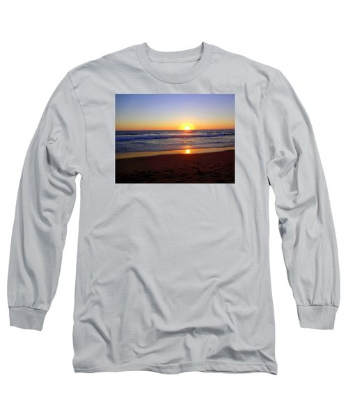 Sunset At Hermosa Long Sleeve T-Shirt