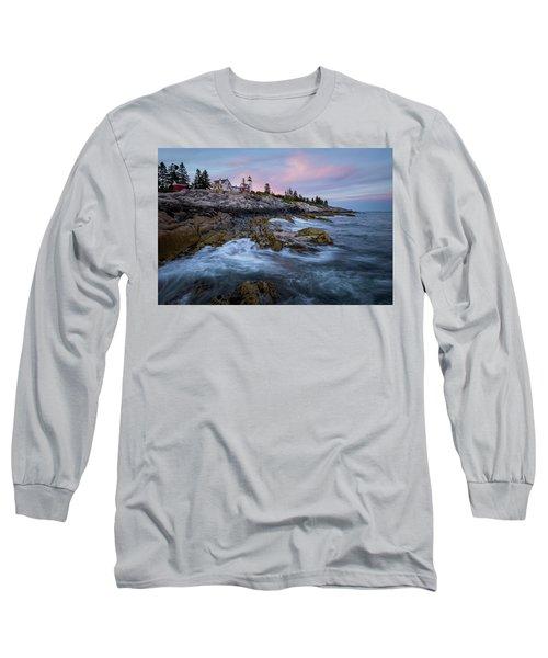 Sunset At Pemaquid Long Sleeve T-Shirt