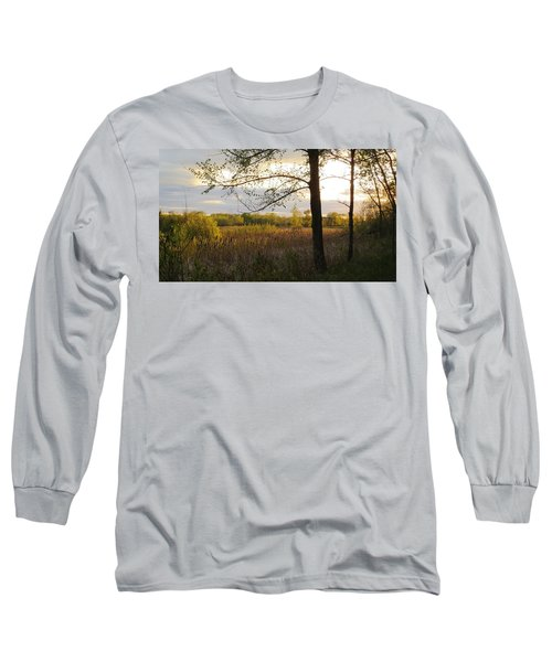 Long Sleeve T-Shirt featuring the photograph Sunset At Scuppernong II by Kimberly Mackowski