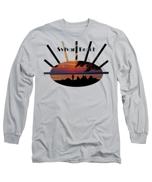 Sunset At Sylvan Beach - T-shirt Long Sleeve T-Shirt