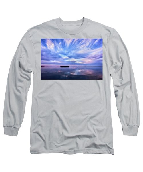 Sunset Awe  Signed Long Sleeve T-Shirt