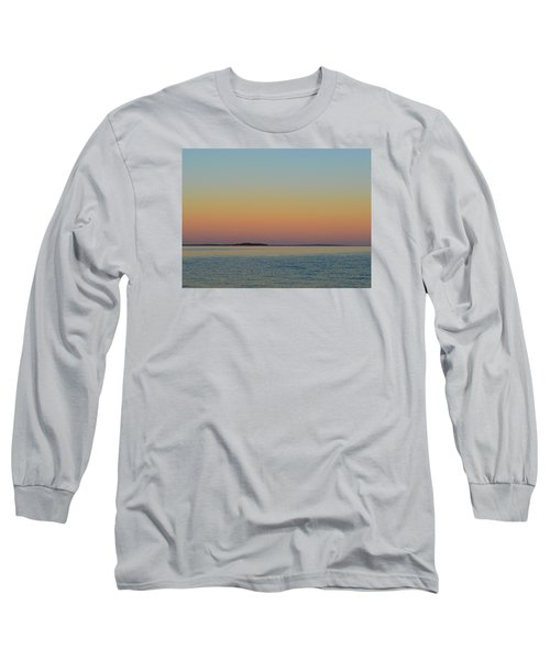 Sunset Blend At The Outer Harbor 2  Long Sleeve T-Shirt by Lyle Crump