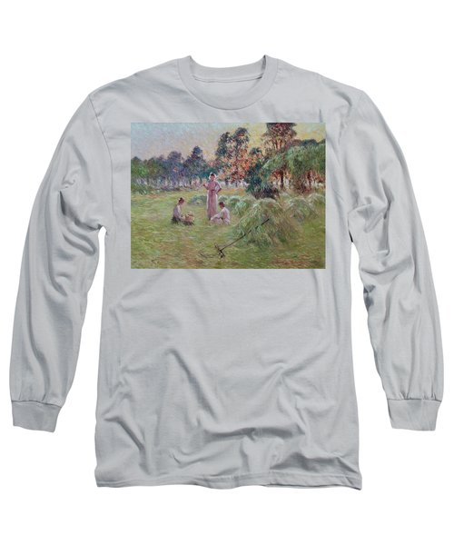 Sunset In Beynac-et-cazenac Long Sleeve T-Shirt