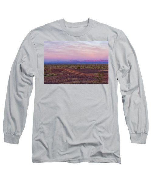 Sunset In Bouse Long Sleeve T-Shirt