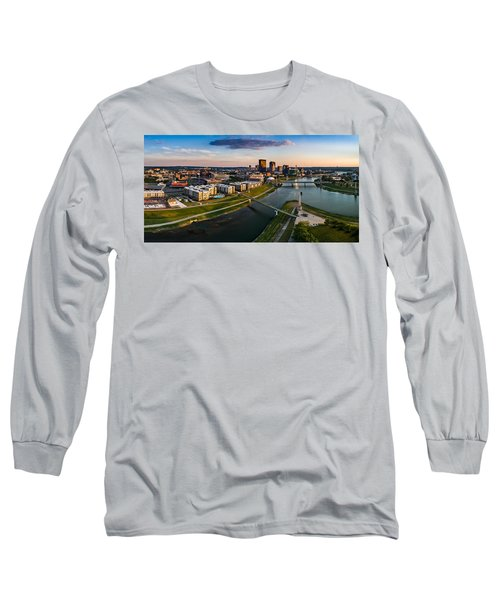 Sunset On Dayton Long Sleeve T-Shirt