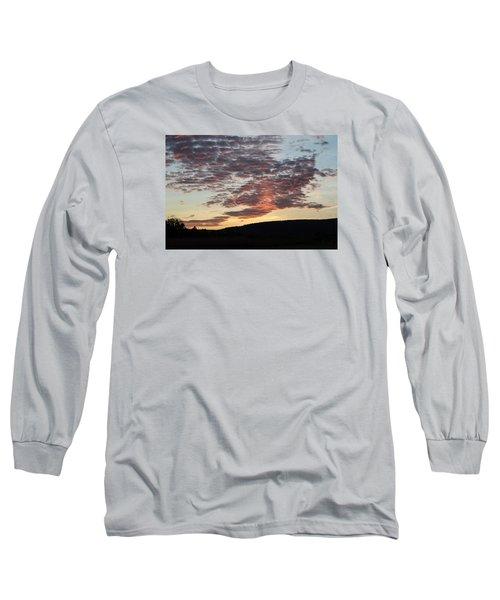 Sunset On Hunton Lane #9 Long Sleeve T-Shirt