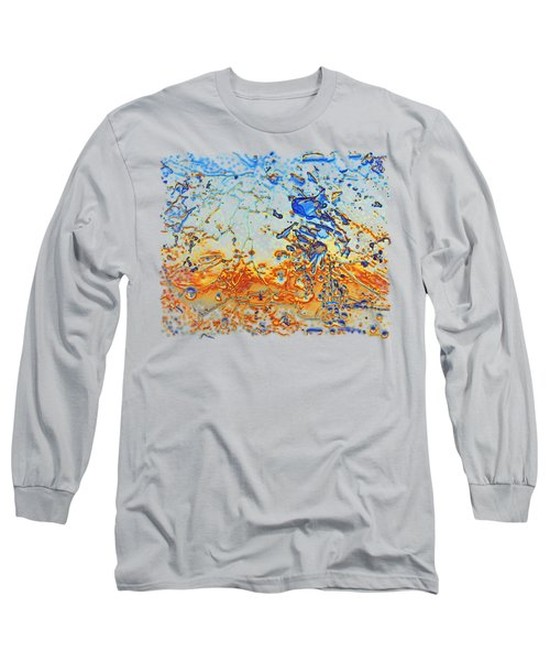 Sunset Walk Long Sleeve T-Shirt by Sami Tiainen