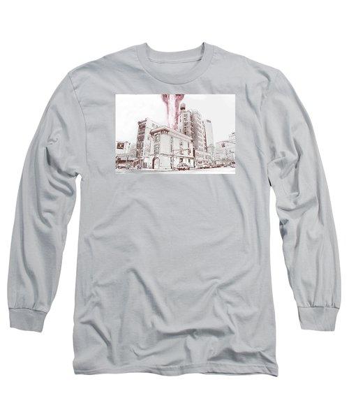 Supernatural Insurance Claim Long Sleeve T-Shirt by Kurt Ramschissel