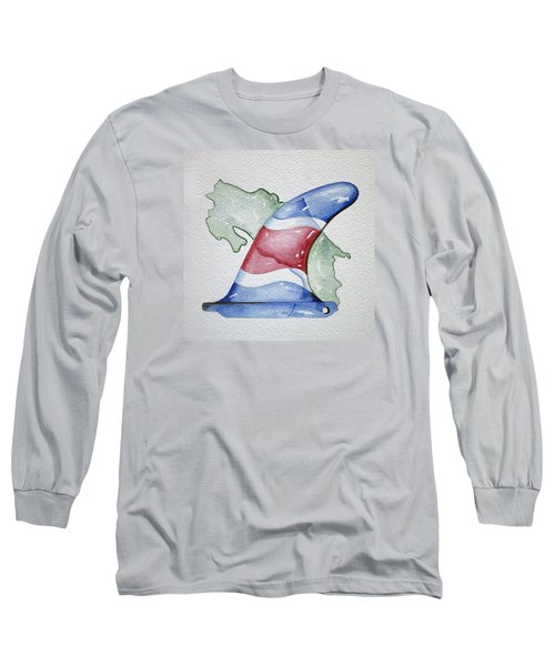 Surf Costa Long Sleeve T-Shirt by William Love