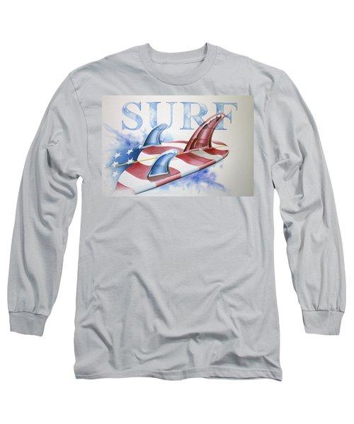 Surf Usa Long Sleeve T-Shirt