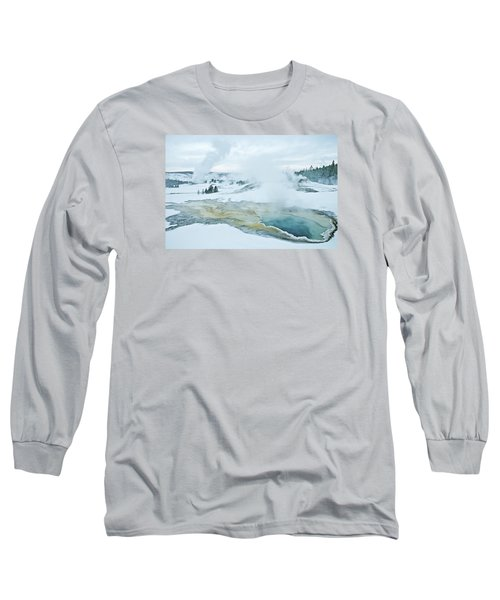 Surreal Landscape Long Sleeve T-Shirt by Gary Lengyel