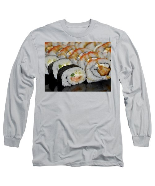 Sushi Rolls From Home Long Sleeve T-Shirt
