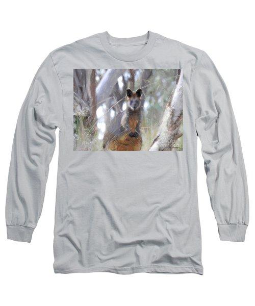 Swamp Wallaby Long Sleeve T-Shirt