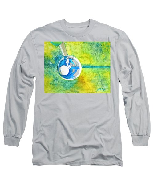 Sweet Anticipation - Golf Series Long Sleeve T-Shirt by Betty M M Wong