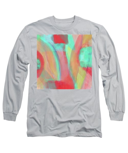 Long Sleeve T-Shirt featuring the digital art Sweet Little Abstract by Susan Stone