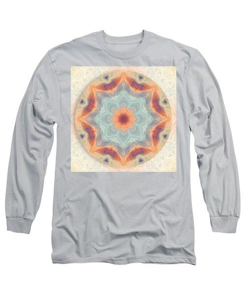 Swirls Of Love Mandala Long Sleeve T-Shirt