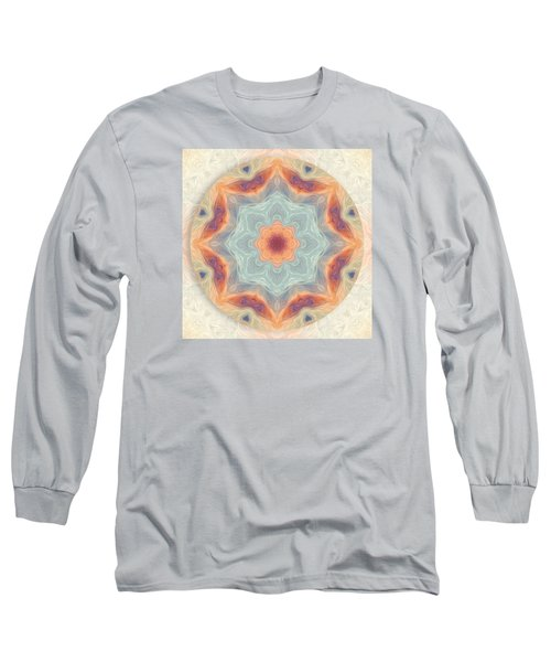 Swirls Of Love Mandala Long Sleeve T-Shirt
