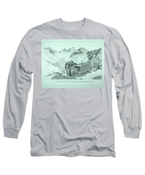 Swiss Alpine Cabin Long Sleeve T-Shirt