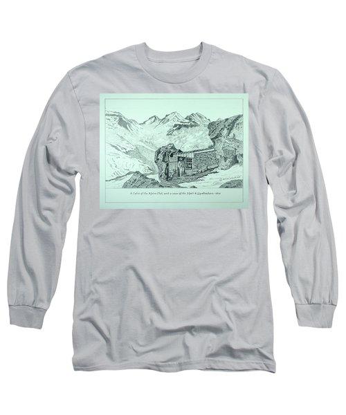 Swiss Alpine Cabin Long Sleeve T-Shirt