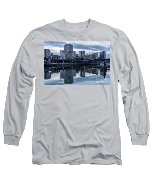 Tacoma Waterfront,washington Long Sleeve T-Shirt