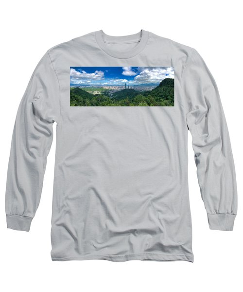 Taipei Panorama Long Sleeve T-Shirt