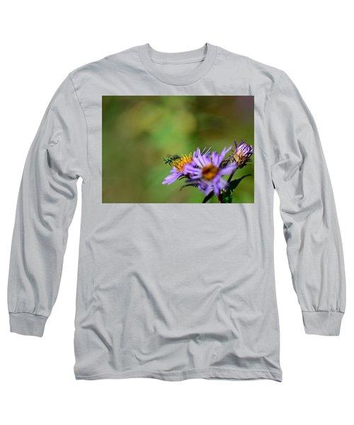 Takeoff Long Sleeve T-Shirt by Janet Rockburn