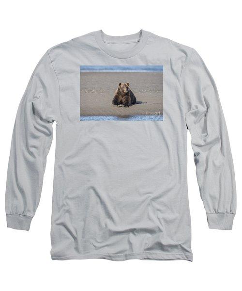 Taking A Break Long Sleeve T-Shirt by Sandra Bronstein
