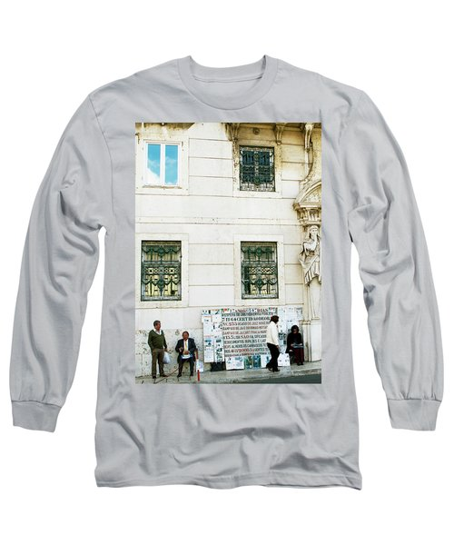 Long Sleeve T-Shirt featuring the photograph Taking It To The Streets by Lorraine Devon Wilke
