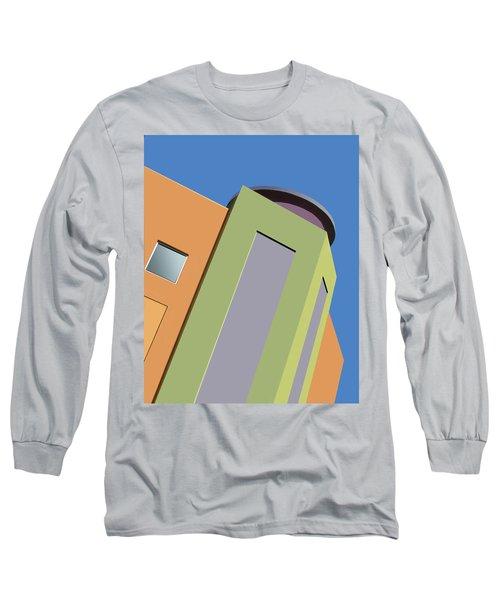 Talin Tilt Long Sleeve T-Shirt by Nikolyn McDonald