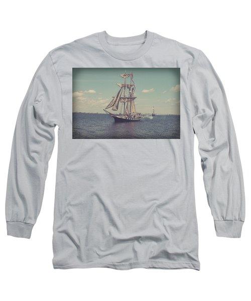 Tall Ship - 3 Long Sleeve T-Shirt