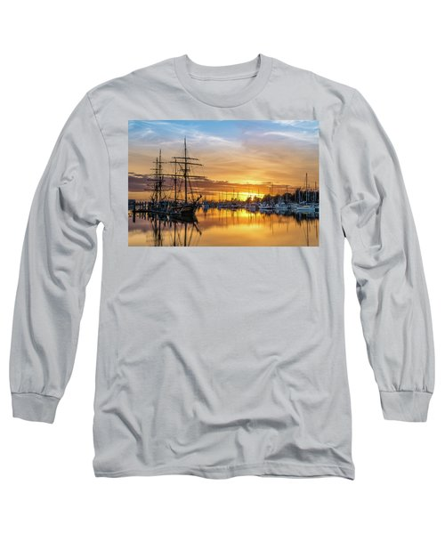 Tall Ships Sunset 1 Long Sleeve T-Shirt