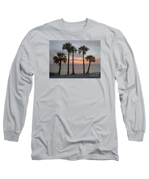 Tampa Bay Sunset Long Sleeve T-Shirt by Gail Kent