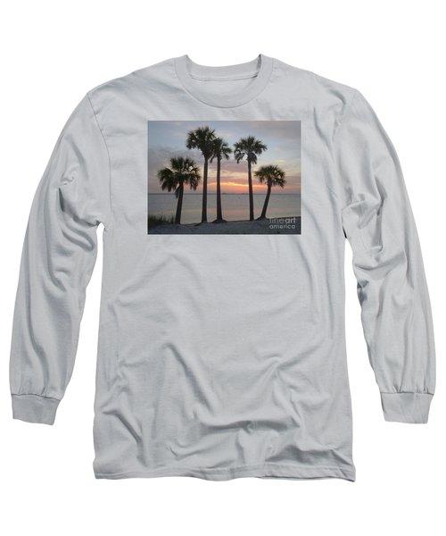 Tampa Bay Sunset Long Sleeve T-Shirt