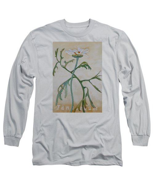 Tanacetum Long Sleeve T-Shirt by Ruth Kamenev