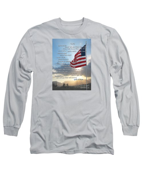 Taps Words Long Sleeve T-Shirt