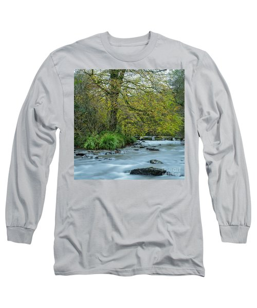Tarr Steps Clapper Bridge Long Sleeve T-Shirt