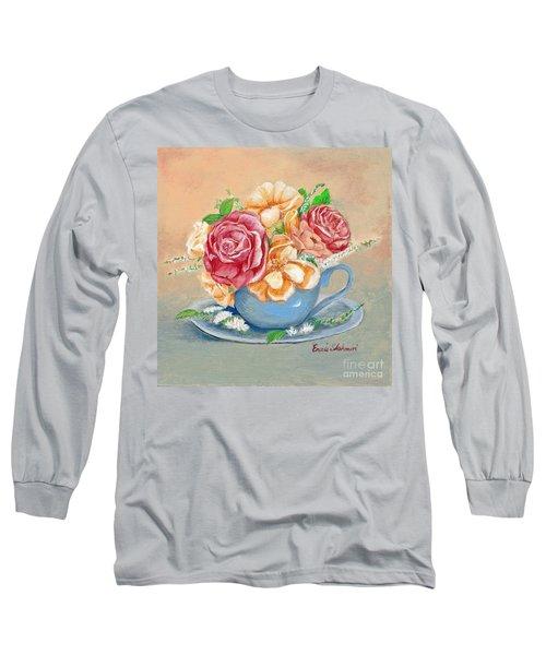Tea Roses Long Sleeve T-Shirt