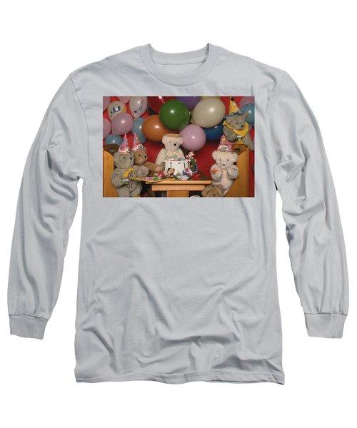 Teddy Bear Party Long Sleeve T-Shirt