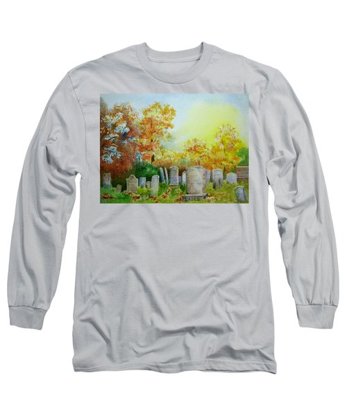 Tennant Cemetery New Jersey Long Sleeve T-Shirt