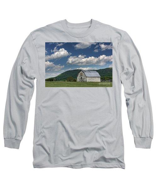 Tennessee Barn Quilt Long Sleeve T-Shirt