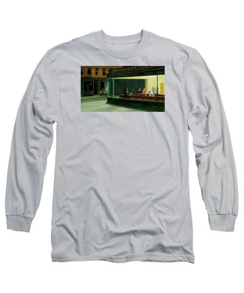 Test Mountain Long Sleeve T-Shirt by Sean McDunn