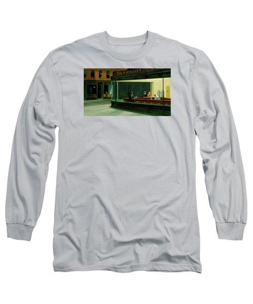 Test Mountain Long Sleeve T-Shirt