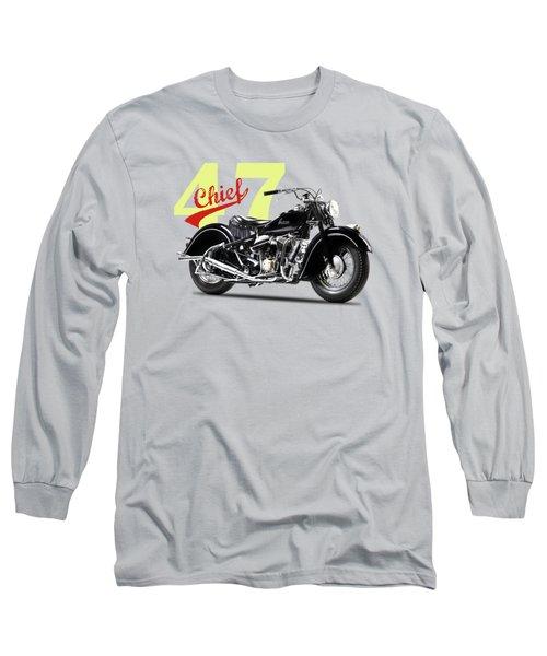 The 1947 Chief Long Sleeve T-Shirt by Mark Rogan